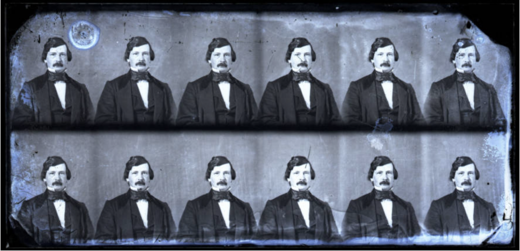 Edward C. Boynton, self-portrait, 1856–1861, The Department of Archives and Special Collections, J.D. Williams Library, The University of Mississippi