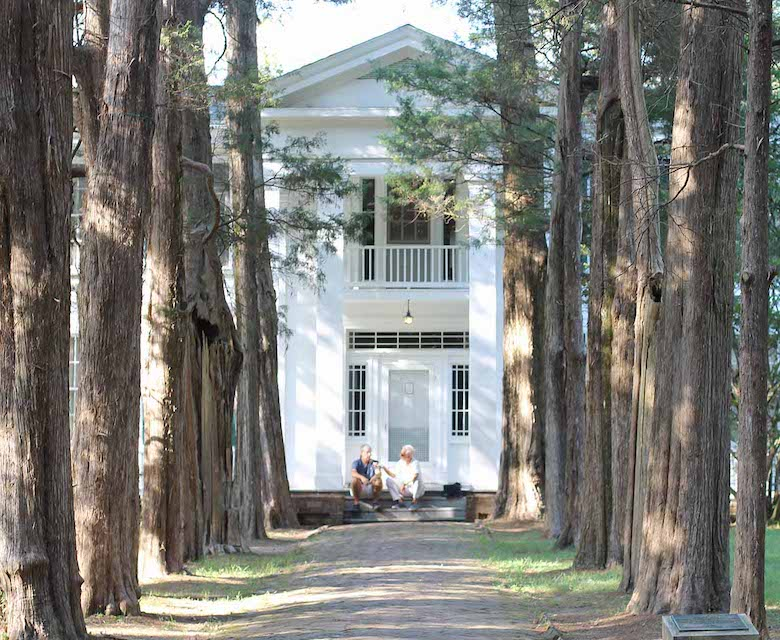 Evidence of slaves was found at Rowan Oak. Former Oxford resident William Faulkner lived at Rowan Oak most of his life.